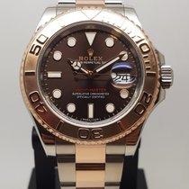 Rolex Yacht-Master 40 Steel 40mm Brown No numerals