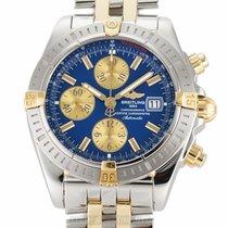 Breitling Chronomat Evolution Gold/Stahl 44mm Blau