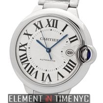Cartier Ballon Bleu 42mm new Automatic Watch with original box and original papers W69012Z4
