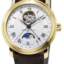 Frederique Constant Classics Moonphase Gold/Steel Silver United States of America, New York, Brooklyn