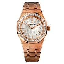 Audemars Piguet 15451OR.ZZ.1256OR.01 Rose gold Royal Oak Lady 37mm new United States of America, New York, Greenvale