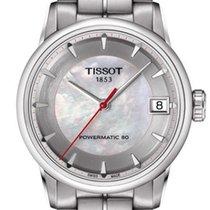 Tissot Luxury Automatic Zeljezo 33mm Sedef-biserast Bez brojeva