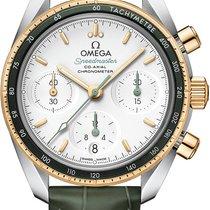 Omega 324.23.38.50.02.001 Acero y oro 2021 Speedmaster 38mm nuevo