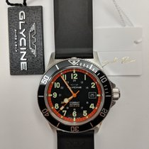 Glycine Combat SUB Steel 42mm Black Arabic numerals