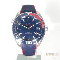Omega Seamaster Planet Ocean Steel 43,5mm Blue Arabic numerals