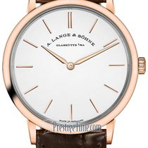 A. Lange & Söhne Saxonia Rose gold 37mm Silver United States of America, New York, Airmont
