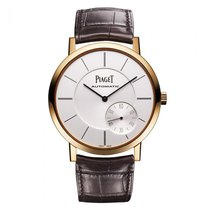 Piaget Altiplano Rose gold 43mm Silver No numerals United States of America, New York, New York