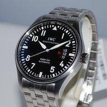 IWC Pilot Mark Steel 41mm Black Arabic numerals