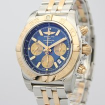 Breitling Chronomat 44 neu 2019 Automatik Chronograph Uhr mit Original-Box und Original-Papieren CB0110121C1C1