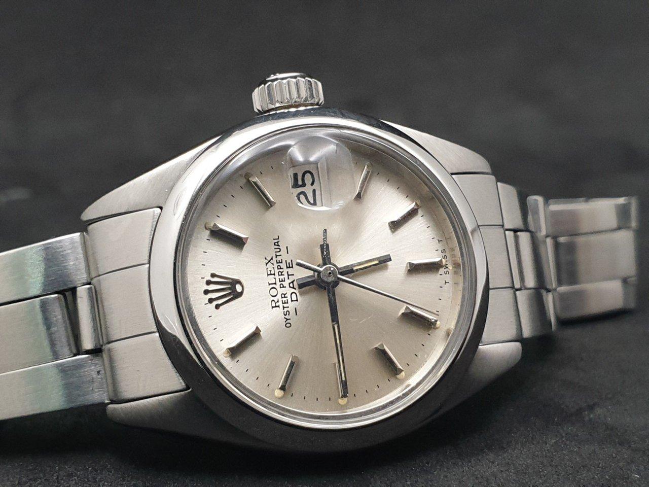 21ba2f7a5e9 Rolex Oyster Perpetual Lady Date por 1.550 € para vender por um Seller na  Chrono24