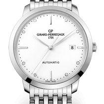 Girard Perregaux Steel Automatic Silver 40mm new 1966