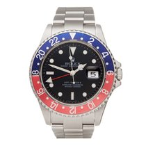 Rolex 40mm Automatic 2006 GMT-Master II Black