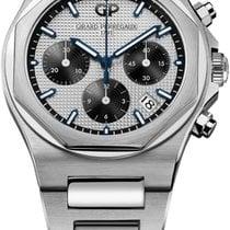 Girard Perregaux Laureato new 2021 Automatic Chronograph Watch with original box 81040-11-131-11a