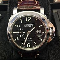 Panerai Luminor Marina Automatic Steel 44mm Black Arabic numerals United Kingdom, Wilmslow