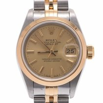 Rolex Oyster Perpetual Lady Date Gelbgold 25mm