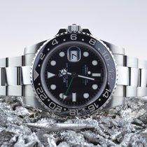 Rolex GMT-Master II Staal 40mm Zwart Geen cijfers Nederland, Goor