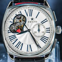 Zenith pre-owned Automatic 37mm Silver Sapphire Glass