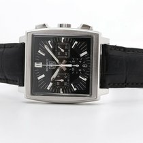 TAG Heuer Monaco Steel 38mm Black No numerals United Kingdom, Oxford