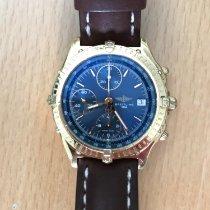 Breitling Chronomat Gelbgold 39mm Blau Keine Ziffern Schweiz, Comano