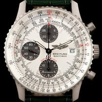 Breitling Platinum Automatic White 42mm pre-owned Navitimer