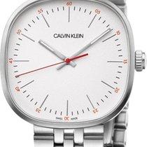ck Calvin Klein Steel K9Q12136 new