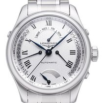 Longines Steel Automatic Silver 41mm new Master Collection