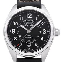 Hamilton Khaki Field Day Date Steel 42mm Black