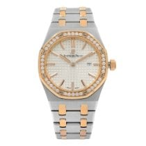 Audemars Piguet Royal Oak Lady Staal 33mm Zilver