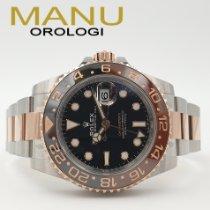 Rolex GMT-Master II Oro/Acciaio 40mm Nero Senza numeri Italia, Roma