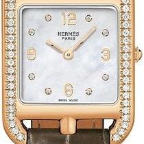 Hermès Rose gold 23mm Quartz Cape Cod new