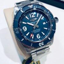 Breitling Superocean 44 Stahl 44mm Blau Arabisch Deutschland, Allersberg