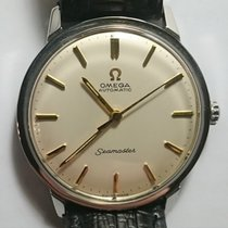 Omega 165.001 Steel 1963 Seamaster 34.5mm pre-owned