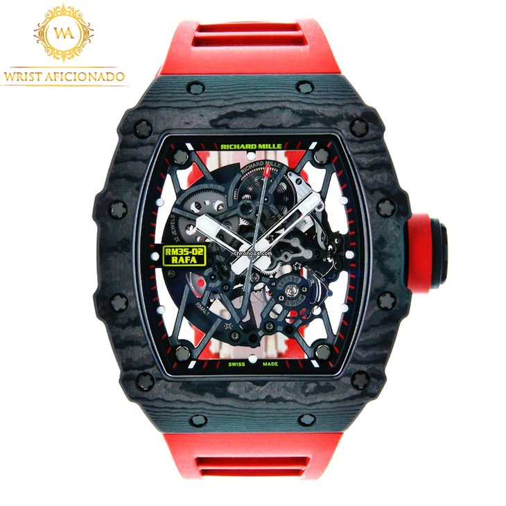 Richard Mille Rafael Nadal Rm Rm35 02 Richard Mille Reference Ref Id Rm35 02 Watch At Chrono24