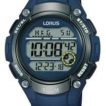 Lorus Plastic Quartz Blue 46mm new