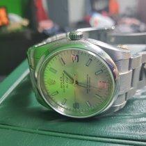 Rolex Oyster Perpetual 34 Acier Argent Arabes