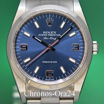 Rolex Air King Precision Ατσάλι 34mm Μπλέ Ελλάδα, Athens