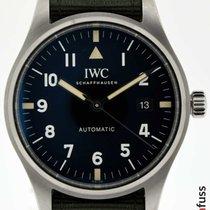 IWC Fliegeruhr Mark Stahl 40mm Schwarz Deutschland, Stuttgart