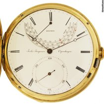 Jules Jürgensen 56mm Manual winding 1848 pre-owned White