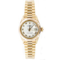 Rolex Lady-Datejust pre-owned 26mm Date Fold clasp, hidden