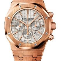 Audemars Piguet 26320OR.OO.1220OR.02 Rose gold Royal Oak Chronograph 41mm pre-owned United States of America, New York, New York