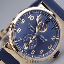 Ulysse Nardin Marine Chronometer Manufacture Rose Gold