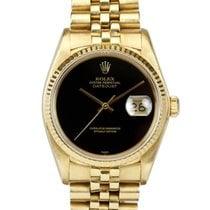 Rolex Rare Onyx Dial Datejust ref 16018