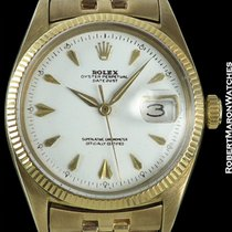 Rolex Datejust 6605 Gold Concorde Dial
