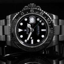 Rolex 116710 SS & Ceramic GMT-Master II w/ Black PVD Coating