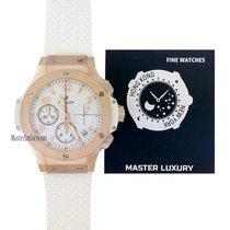 Hublot Big Bang 41 mm new 2019 Automatic Chronograph Watch with original box and original papers 341.PE.230.RW