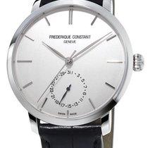 Frederique Constant Slim Line Automatic Steel Mens Strap Watch...