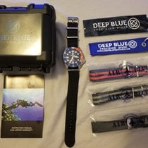 Deep Blue 44mm Automatic 2010 pre-owned Blue