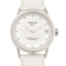 Tissot Luxury Automatic Acero 33mm Blanco