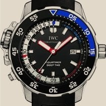 IWC Aquatimer Deep Two Aço 46mm Preto Sem números