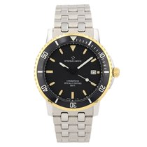 Eterna Gold/Steel 39mm Automatic 1400.47.42 pre-owned